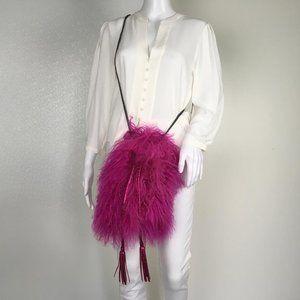 Yocelyn Women Bag Pink Color Faux Fux Party G10